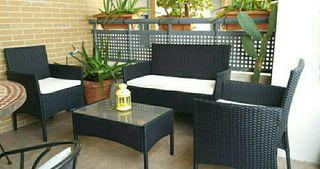 Muebles ratán para jardín o terraza
