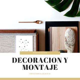 Decoración y Montaje a Domicilio