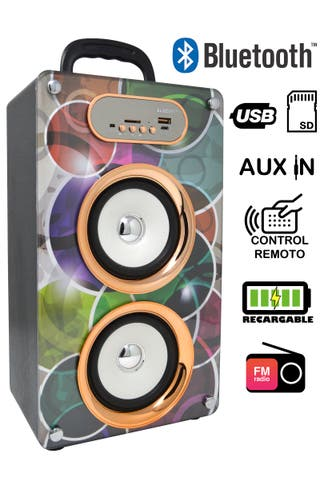 Altavoces bluetooth diseños exclusivos Envios inc