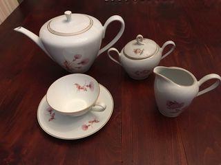 Juego de té de 6 piezas