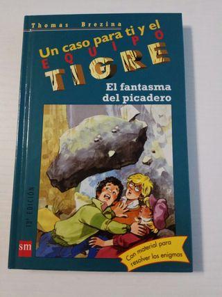 Libro infantil Un caso para ti y el equipo tigre