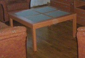 Mesa baja salón.