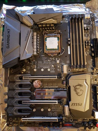 Placa base MSI Z270 GAMING M7 + I5-7600K