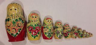 Matrioska rusa de 12 piezas