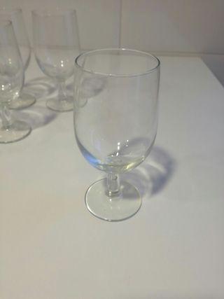 9 copas cristal