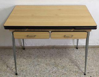 Mesa para cocina antigua de madera