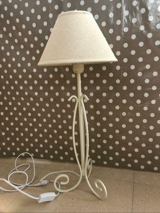lámpara de forja NUEVA