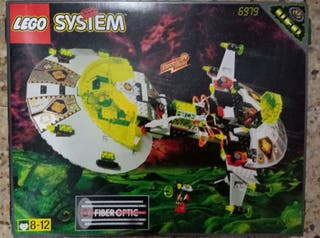 lego system ufo 6979 completo