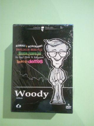 PACK 5 PELICULAS DE WOODY ALLEN - 5 DVDS (NUEVO)