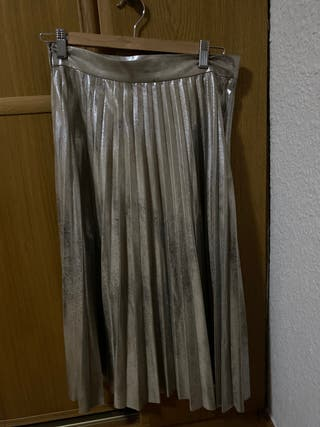 Falda plisada de zara talla S