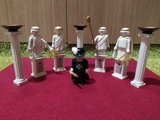 Playmobil Caballero de Malta con estatuas Romanas