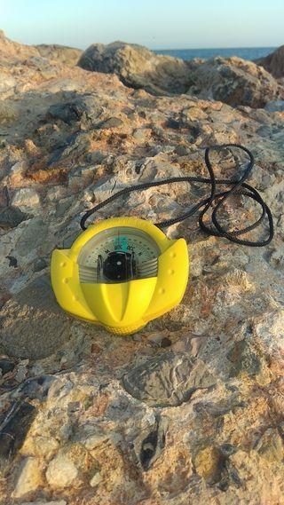 Compas Nautico Plastimo Iris 50 amarillo