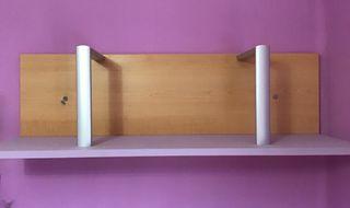 Dos estanterías habitación juvenil chica