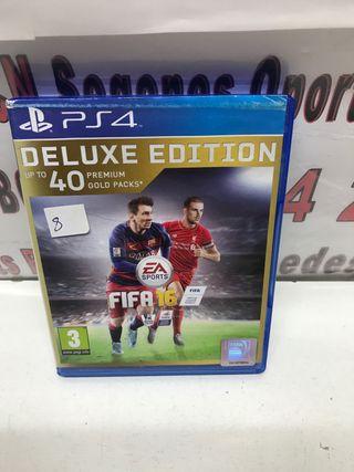 JUEGO PS4 FIFA 16 DELUXE