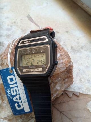 reloj Casio melodías nuevo versión gold