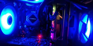 PC GAMING I7 6700K RGB GTX 1050