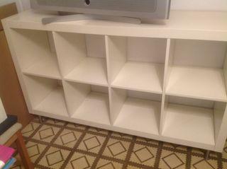 Mueble blanco lacado de Ikea