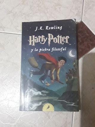 libro de harry potter (y la piedra filosofal)
