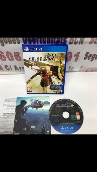 JUEGO PS4 final fantasy hd