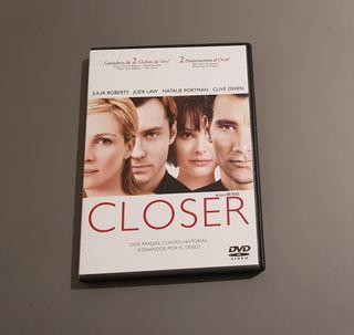 Película DVD Closer