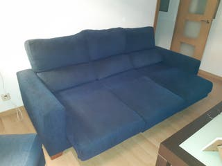 sofá-cama de 3 plazas con chaiselonge móvil
