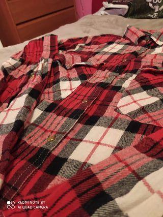 Camisa cuadros Primark