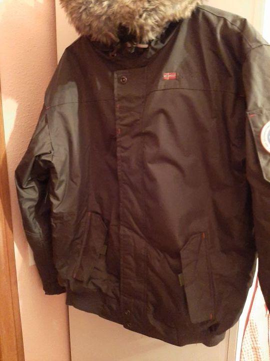 chaqueta geographical NORWAY nueva verde preciosa