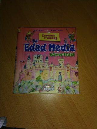 libro de castillos edad media para niños