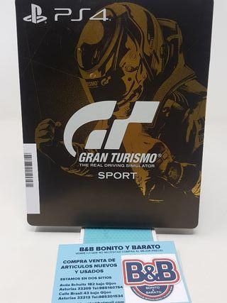 GRAN TURISMO SPORT PS4 (CAJA CHAPA)