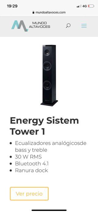 Torre altavoces