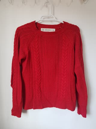 Jersey rojo Zara talla S