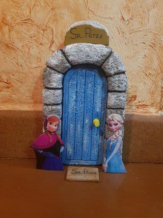 Puerta Ratón Perez Frozen para rodapie
