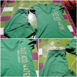 Camiseta + pantalon deporte