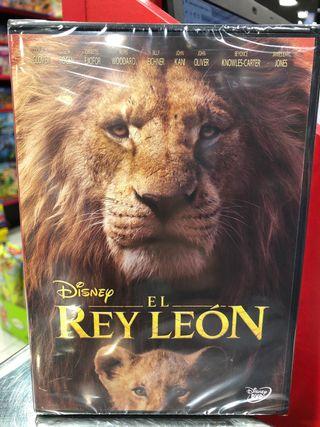EL REY LEON PELICULA DVD