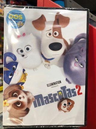 MASCOTAS 2 PELICULA DVD
