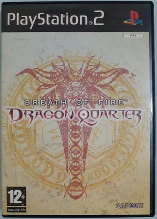 BREATH OF FIRE - DRAGON QUARTER - PlayStation 2