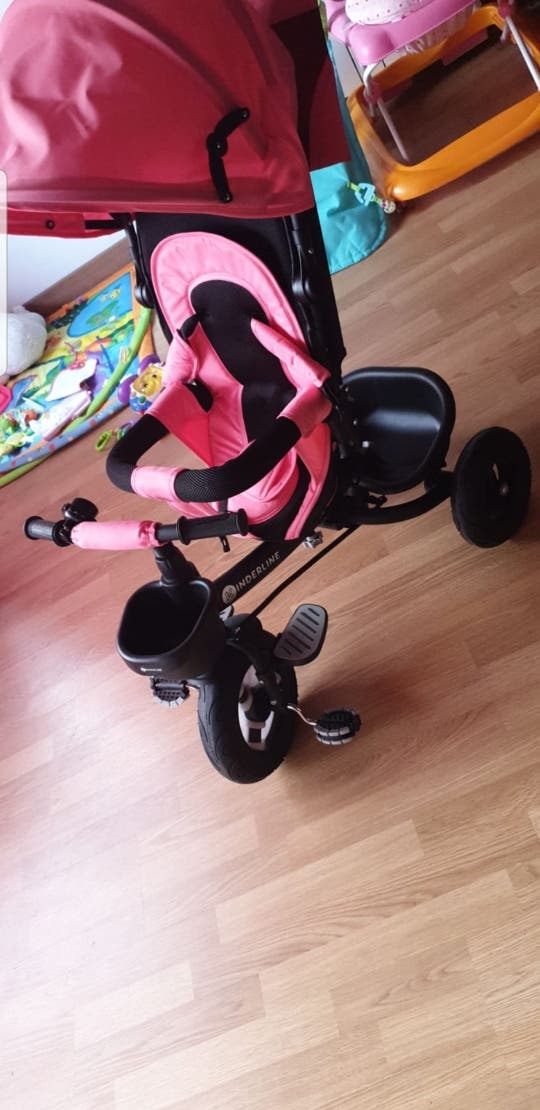 bicicleta rosa bebe