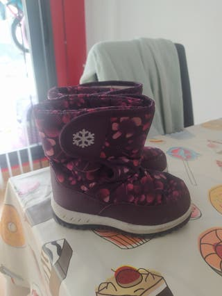botas de nieve niña
