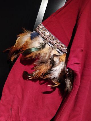 Sudadera plumas