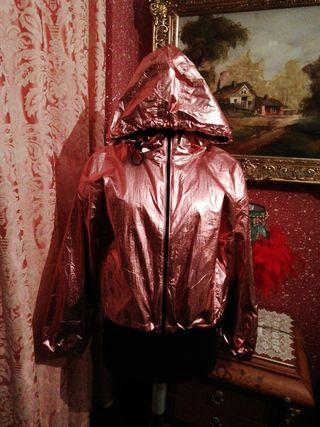 Cazadora chaqueta talla M chándal sudadera rosa me