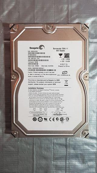 Disco Duro SEAGATE 500 Gb