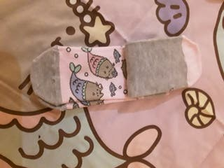 3 pares de calcetines Pusheen