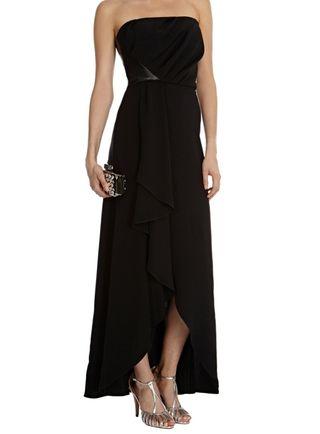 Vestido de fiesta negro marca Coast. Nuevo