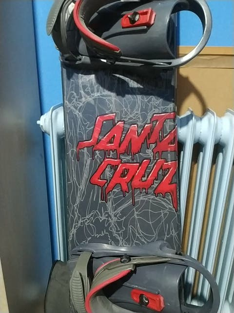 Tabla + fijaciones Santa Cruz