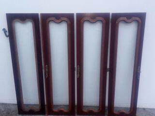 puertas cristal-madera