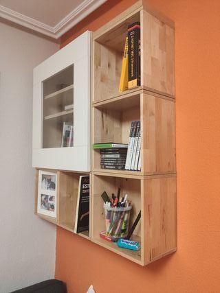 Mueble armario estanteria con puerta