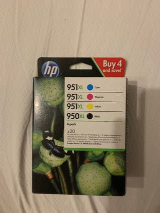 Tinta para impresora HP