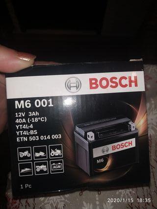 nueva BATERÍA BOSCH M6 001