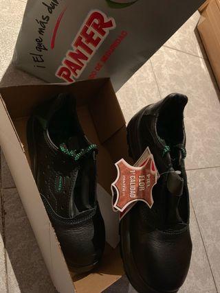 Zapato seguridad Panter número 42 nuevo