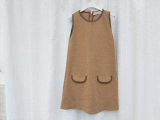 Marca Zara vestido de punto de lana mujer